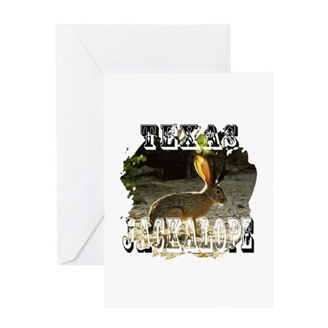 Texas Jackalope Greeting Card