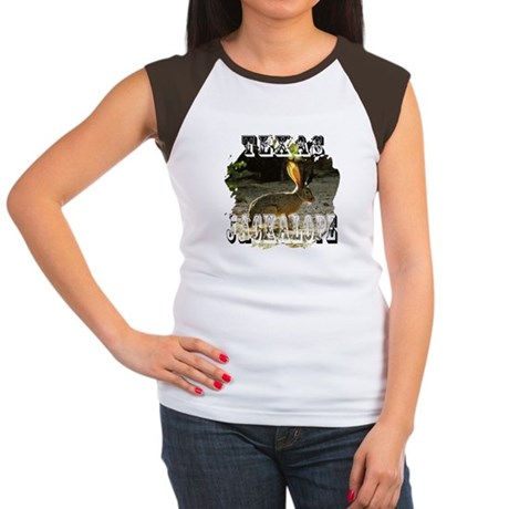 Texas Jackalope Women's Cap Sleeve T-Shirt