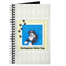 Portuguese Water Dog Black wi Journal