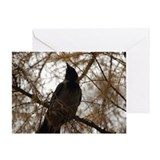 Kiev Crow Greeting Card