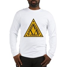 Lambda Lambda Lambda Long Sleeve T-Shirt