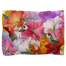 Hibiscus Butterflies 1 Pillow Sham