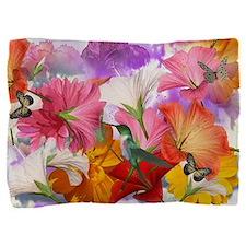 Hibiscus Butterflies 2 Pillow Sham