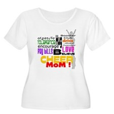 Cheer Mom Words T-Shirt
