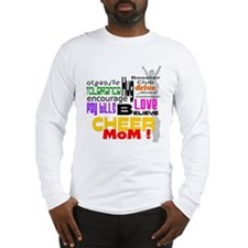 Cheer Mom Words Long Sleeve T-Shirt