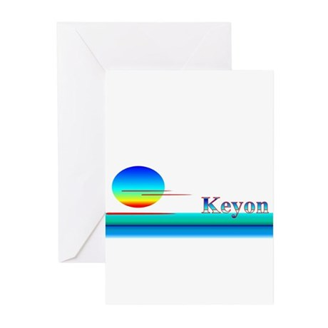 Keyon Greeting Cards (Pk of 20)