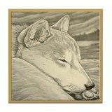Shiba Inu Dog Art Coasters Shiba Inu Tile Coaster
