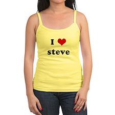 I Love steve Jr.Spaghetti Strap
