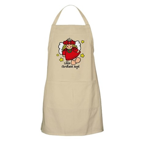 Little Christmas Angel BBQ Apron