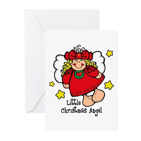 Little Christmas Angel Greeting Cards (Pk of 10)