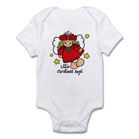 Little Christmas Angel Infant Bodysuit