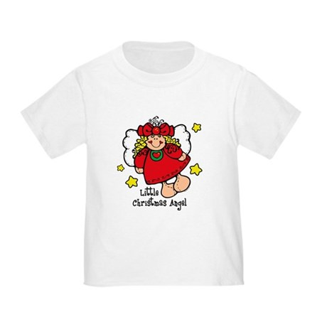 Little Christmas Angel Toddler T-Shirt