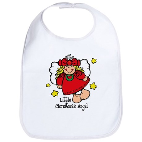 Little Christmas Angel Bib
