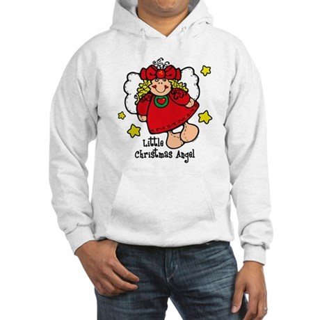 Little Christmas Angel Hooded Sweatshirt