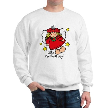 Little Christmas Angel Sweatshirt
