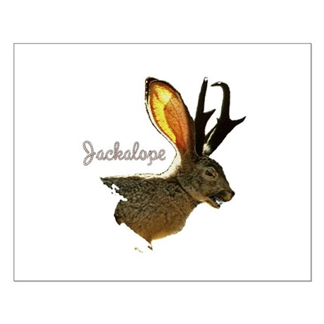 Jackalope Small Poster