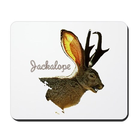 Jackalope Mousepad