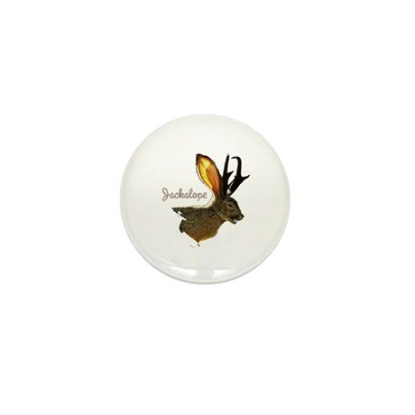 Jackalope Mini Button (10 pack)