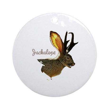 Jackalope Ornament (Round)