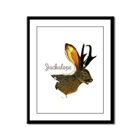 Jackalope Framed Panel Print