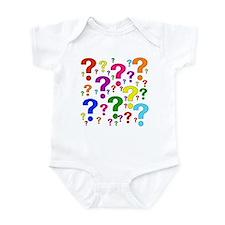 Rainbow Question Marks Infant Bodysuit