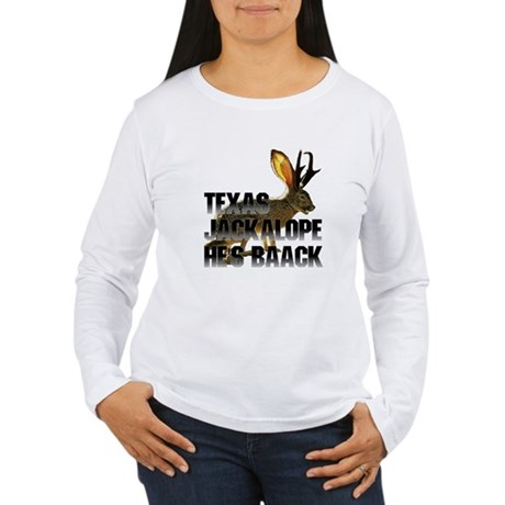 Texas Jackalope Women's Long Sleeve T-Shirt