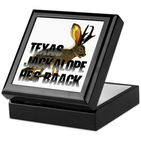 Texas Jackalope Keepsake Box