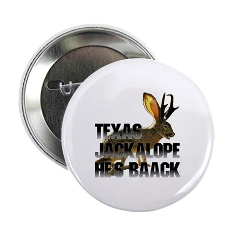 "Texas Jackalope 2.25"" Button (10 pack)"