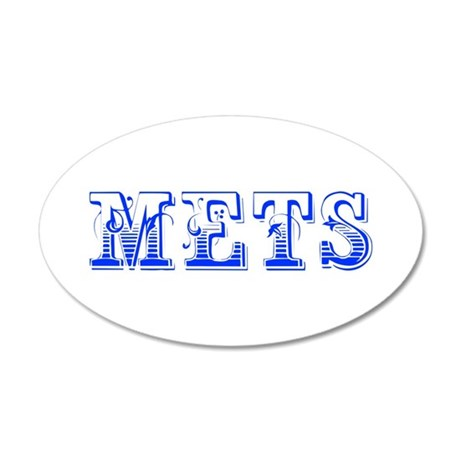 mets-Max blue 400 Wall Decal