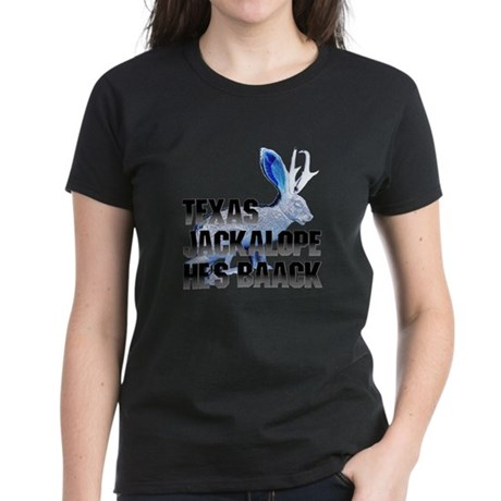 Texas Jackalope Women's Dark T-Shirt