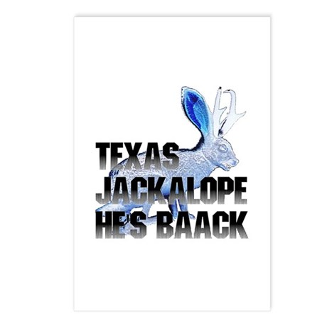Texas Jackalope Postcards (Package of 8)