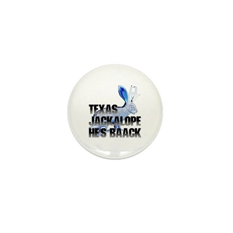 Texas Jackalope Mini Button (10 pack)