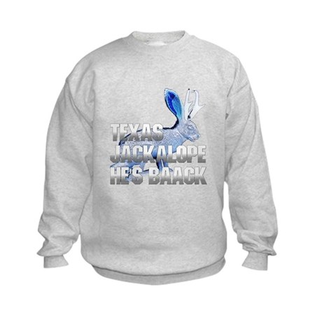 Texas Jackalope Kids Sweatshirt