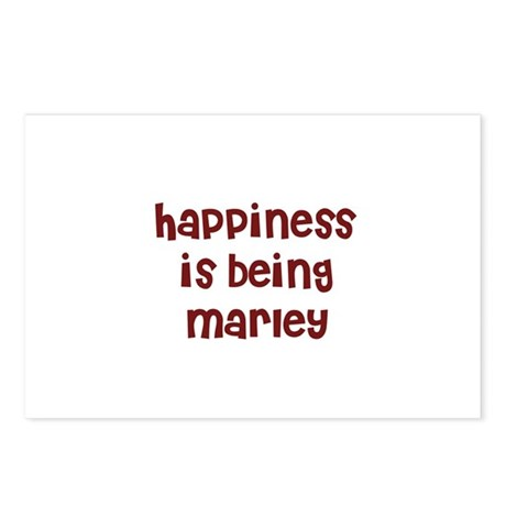 happiness is being Marley Postcards (Package of 8)