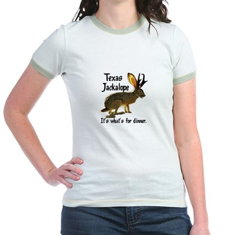 Texas Jackalope Jr. Ringer T-Shirt