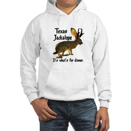 Texas Jackalope Hooded Sweatshirt