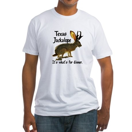 Texas Jackalope Fitted T-Shirt