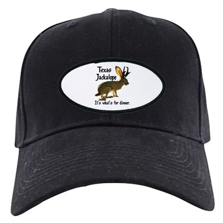 Texas Jackalope Black Cap