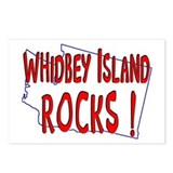 Whidbey Island Rocks ! Postcards (Package of 8)