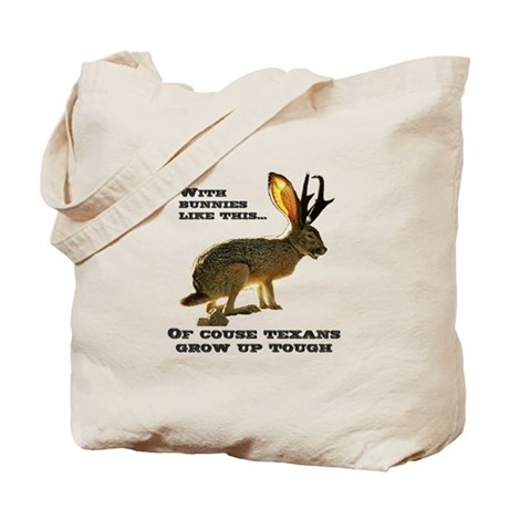 Texas Jackalope Tote Bag