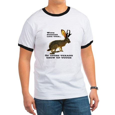 Texas Jackalope Ringer T