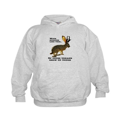 Texas Jackalope Kids Hoodie