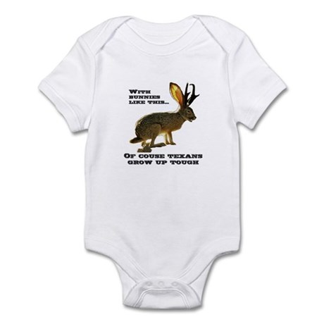 Texas Jackalope Infant Bodysuit