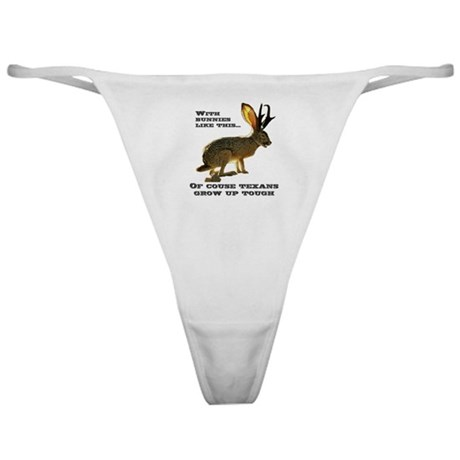 Texas Jackalope Classic Thong