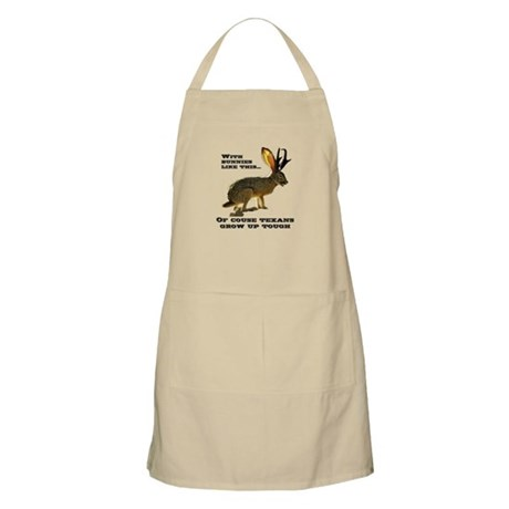 Texas Jackalope BBQ Apron