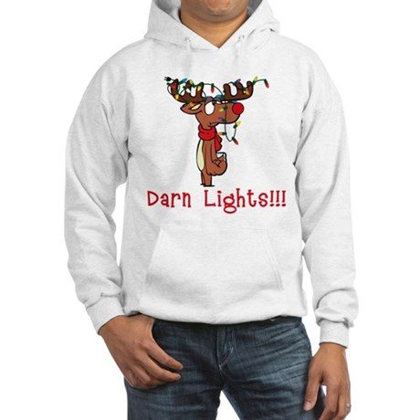 Darn Lights!!! Hooded Sweatshirt