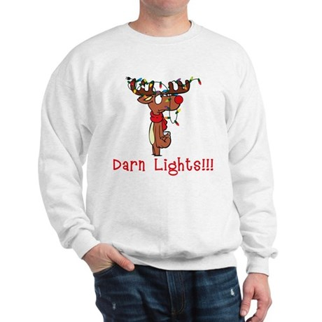Darn Lights!!! Sweatshirt