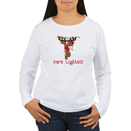 Darn Lights!!! Women's Long Sleeve T-Shirt