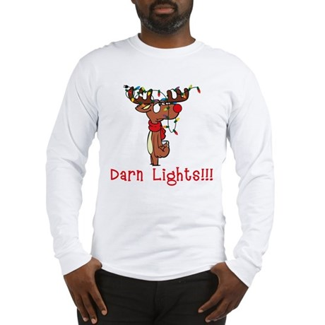 Darn Lights!!! Long Sleeve T-Shirt