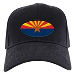 Arizona Flag Black Cap